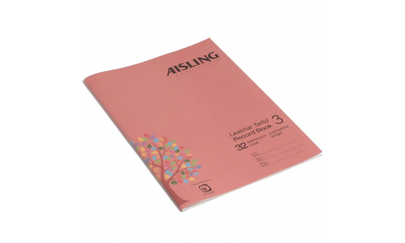 Aisling A4 Business Studies Book 3, 32 page, Ledger Book