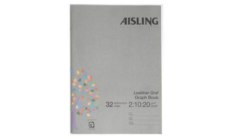 Aisling A4 Graph Copy 32 page