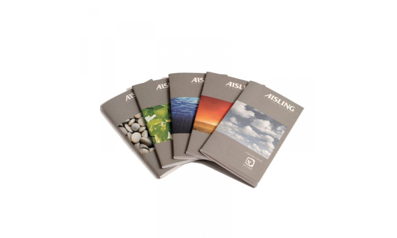Aisling 160 X 100mm Softback Ruled Notebook 48page