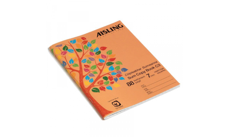 Aisling Sum Copy 88 page, 200 x 160mm