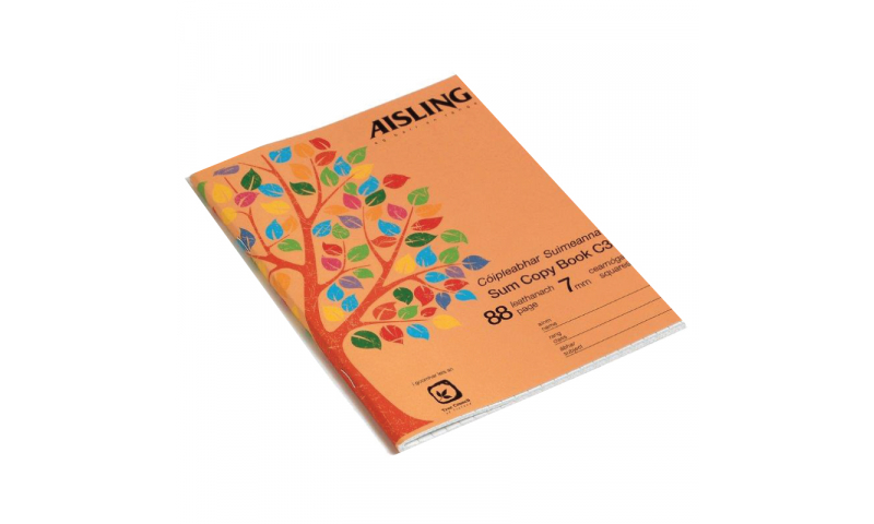 Aisling Sum Copy 40 page, 200 x 160mm
