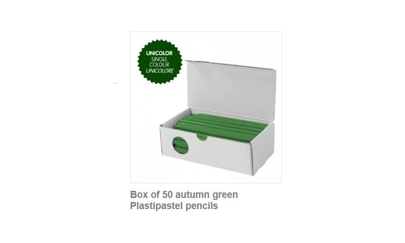 Milan Plastipastel Classroom Bulk Packs of 50 crayons per colour, 24 colours available