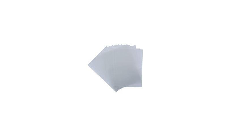 Portfolio A4 Clear Frosted Binding Covers, 350mic - Pack 100