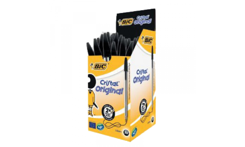 BIC Cristal Original 50 Box - Medium - 4 Colours to select  (New Lower Price for 2021)
