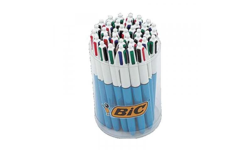 BIC 4 Colours Original, Counter Display Tub - Barcoded  (New Lower Price for 2021)