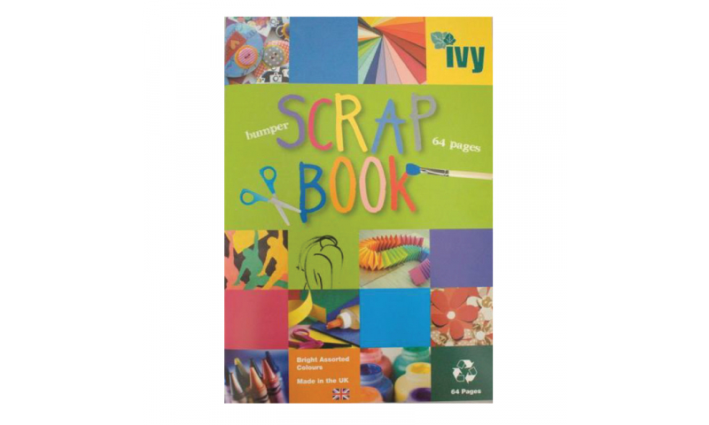 IVY Bumper Multi-Coloured Scrap book, 64 Pages
