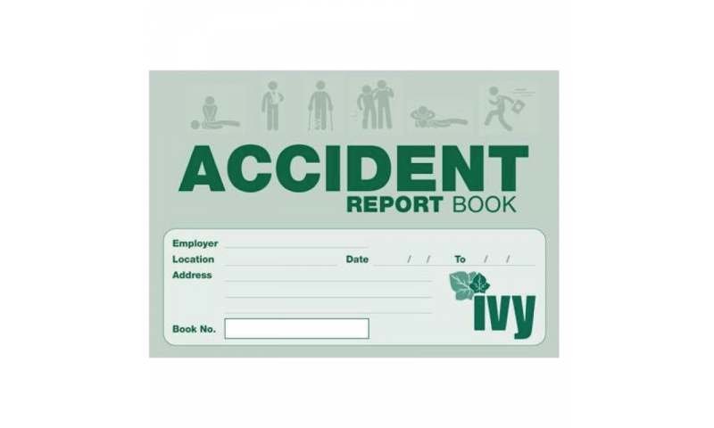 IVY Accident Report Book