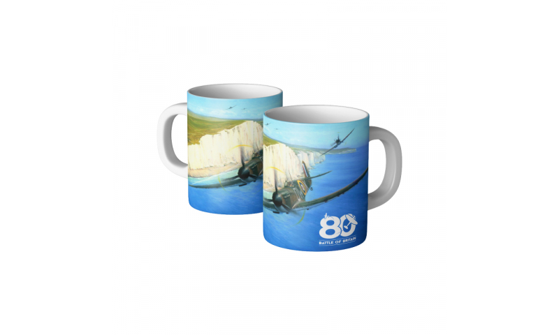 Battle of Britain Ceramic Mug Painting