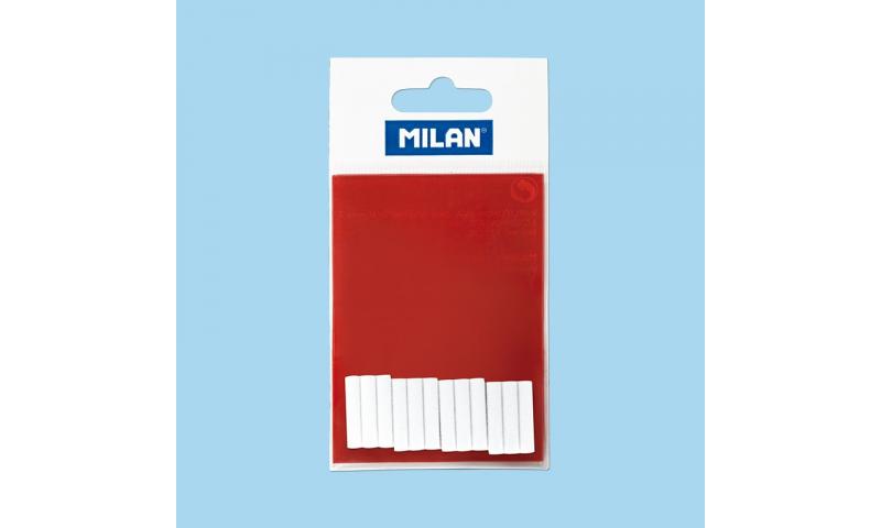 Milan Refill Erasers for Erasing Machine, 12pk Hangcarded