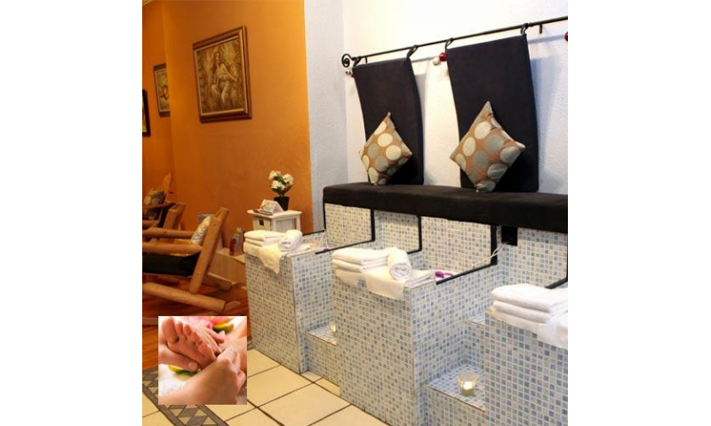 Fabulous One Hour Feet Pedicure At Buff Day Spa