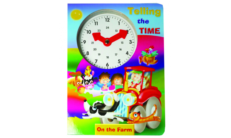 Childrens Books Tell the Time Farm Boardbook