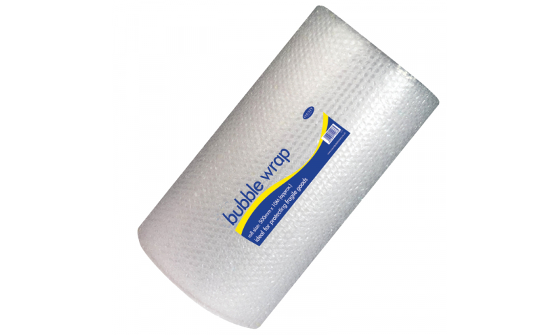 County Stationery Bubble Wrap Rolls 50cm x 15m (New Lower Price for 2021)
