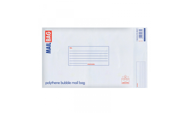 County Stationery Polythene Bubble Bags Small Pack 10, 170 x 260mm (New Lower Price for 2021)