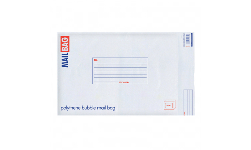 County Stationery Polythene Bubble Bags Medium Pack 10, 210 x 335mm (New Lower Price for 2021)