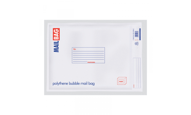 County Stationery Polythene Bubble Bags Large Pack 10, 290 x 440mm (New Lower Price for 2021)