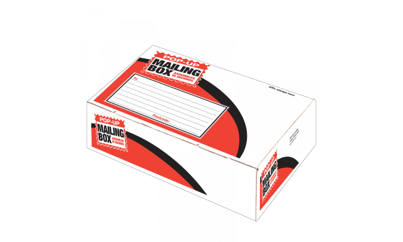 County Stationery Pop Up Post Box Small  Wide 316x224x80mm