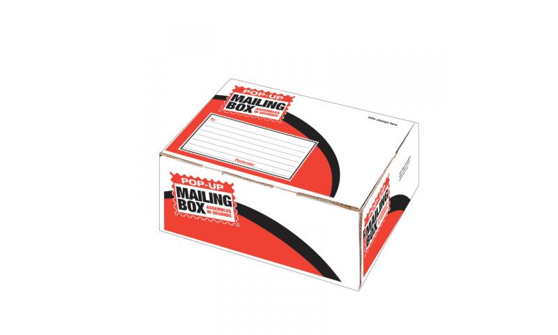 County Stationery Pop Up Post Box Medium  Deep 350x250x160mm