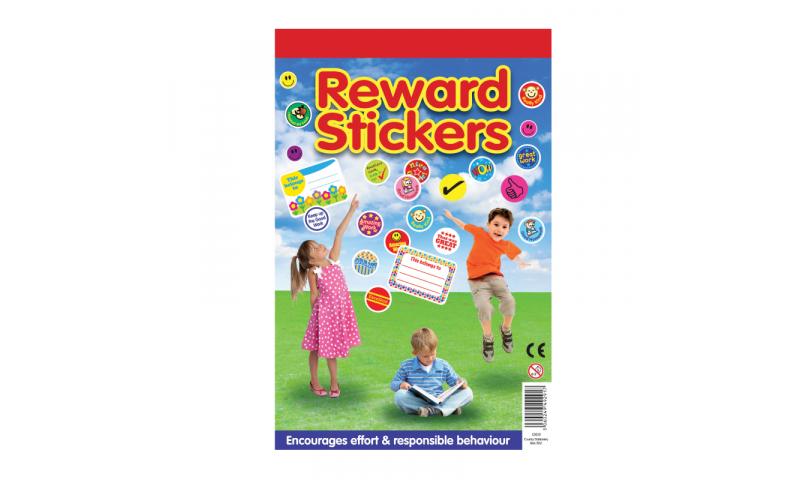 County Stationery Reward Sticker Booklet, Over 1000 Mini Stickers