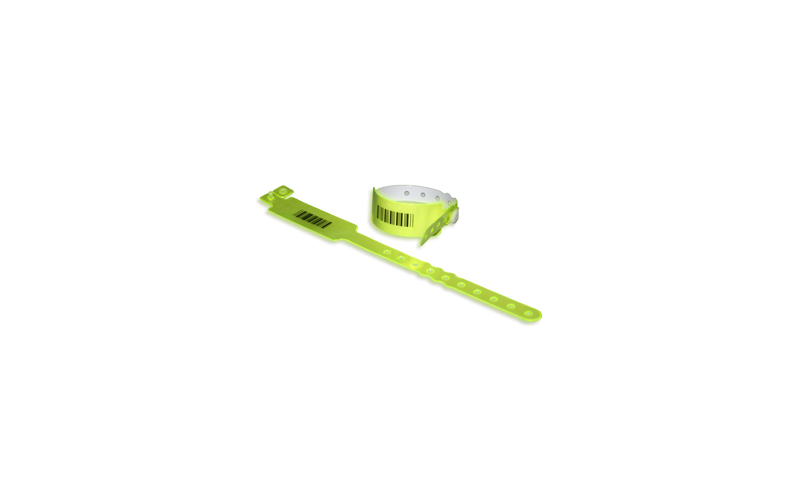 Plastic ID Wristbands Printed