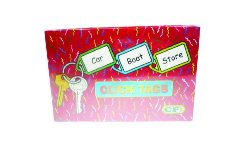 Zip Small Locker Keytags, Asstd