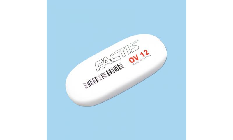 Factis OV12 Large Soft Oval Pencil Eraser