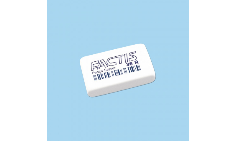 Factis 36R, Soft School Pencil Eraser (New Lower Price for 2021)