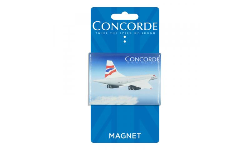 Concorde Tin Magnet