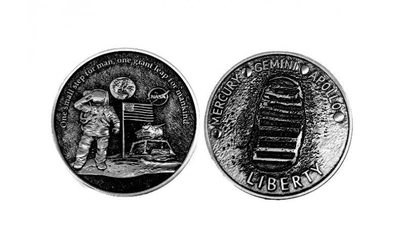 NASA Collectable Coin Moon Landing