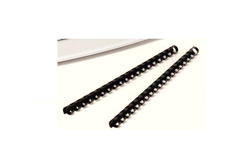 Fellowes A4 Comb Bindings, 21 Ring, 25mm, - Box of 50 -Black (New Lower Price for 2021)
