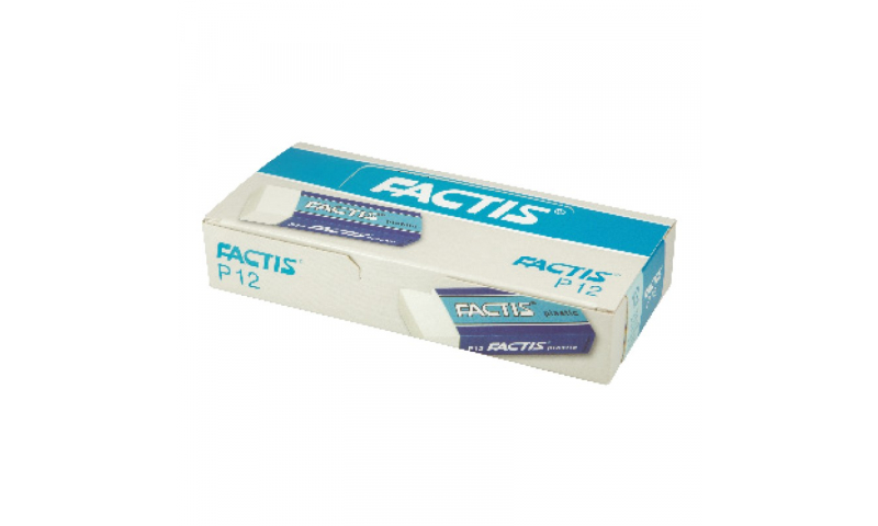 Factis P12 Large Plastic Rectangular Eraser