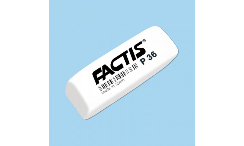 Factis P36, Large Wedge Plastic Eraser, Barcoded (Offer while stocks last only)