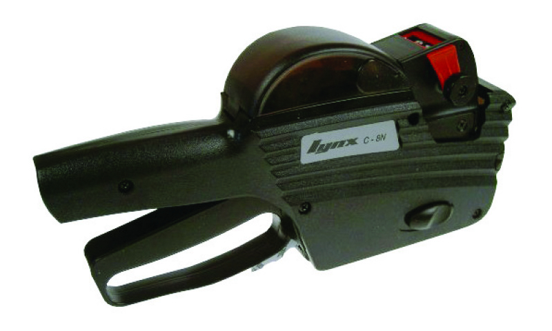 Lynx C-8N Single Line Gun 8 Price Bands, With 1500 Labels