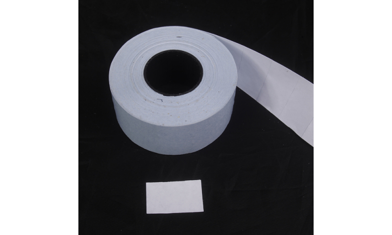 APLI CT7 Double line Pricing labels, White Permanent, Roll of 1000 (New Lower Price for 2021)