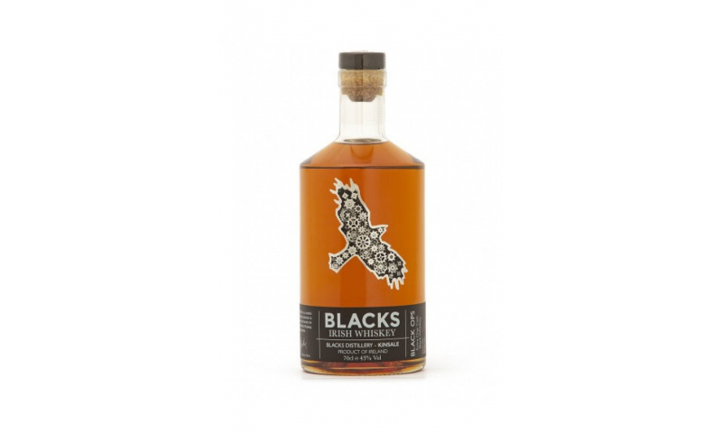 Black Ops Irish Whiskey 70cl