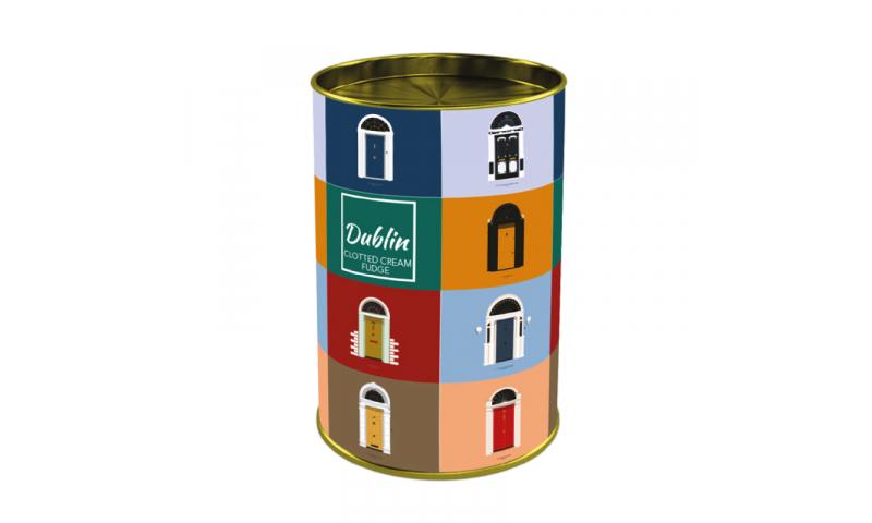 Dublin Doors  Clotted Cream Fudge125g