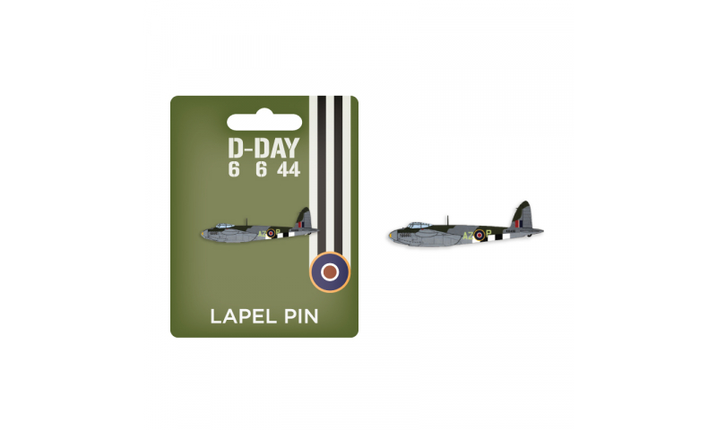 D-Day Mosquito Lapel Pin