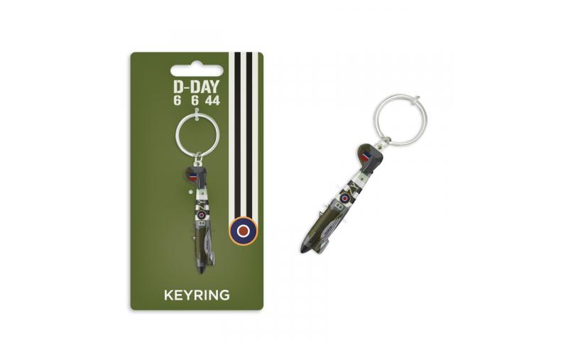 D-Day Typhoon Metal Keyring