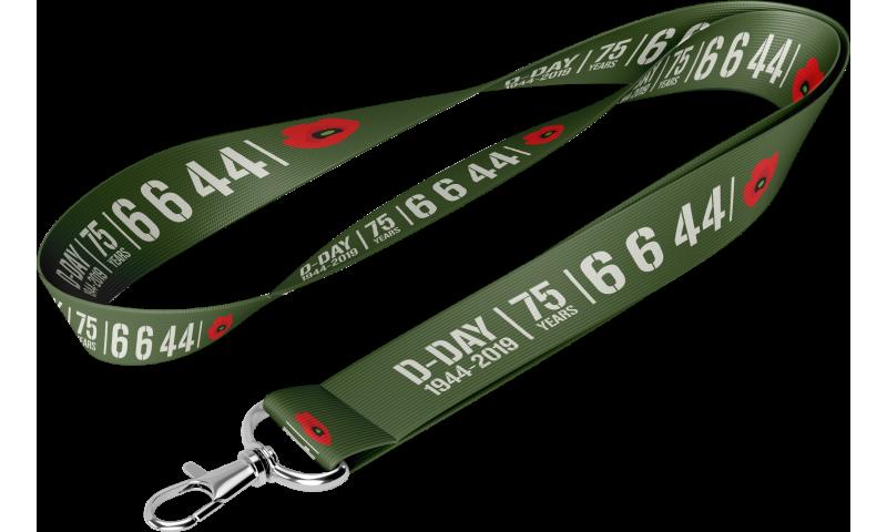 D-Day 75th Anniversary Lanyard