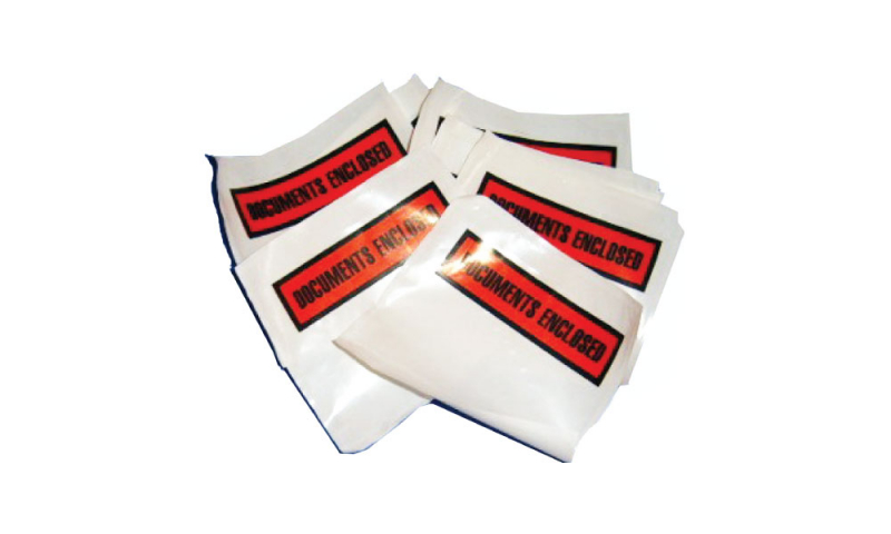 Adhesive Documents Enclosed Wallet - A7 Printed, Pack 1000. (New Lower Price for 2021)