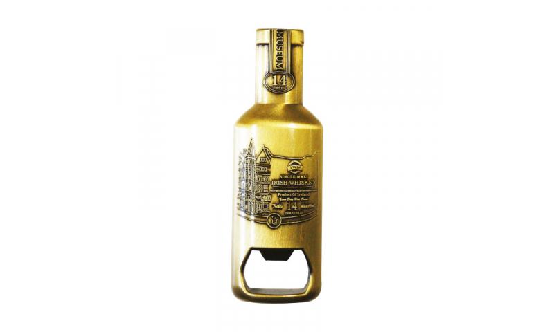 Large 3D  Bottle Shaped Metal Magnet & Bottle Opener, Fully Bespoke