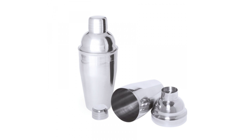 Metal Cocktail Shaker,Includes Laser Engraving up to 40x25mm