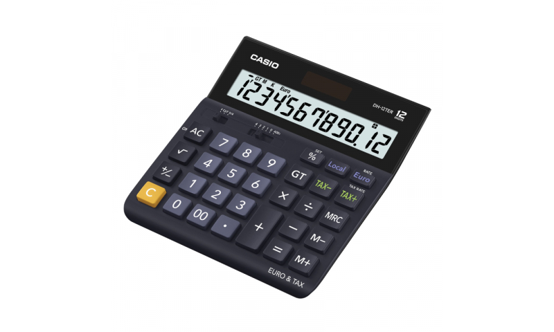 Casio 12 Digit H/Duty Desk Calculator, Tax, Currency (New Lower Price for 2021)