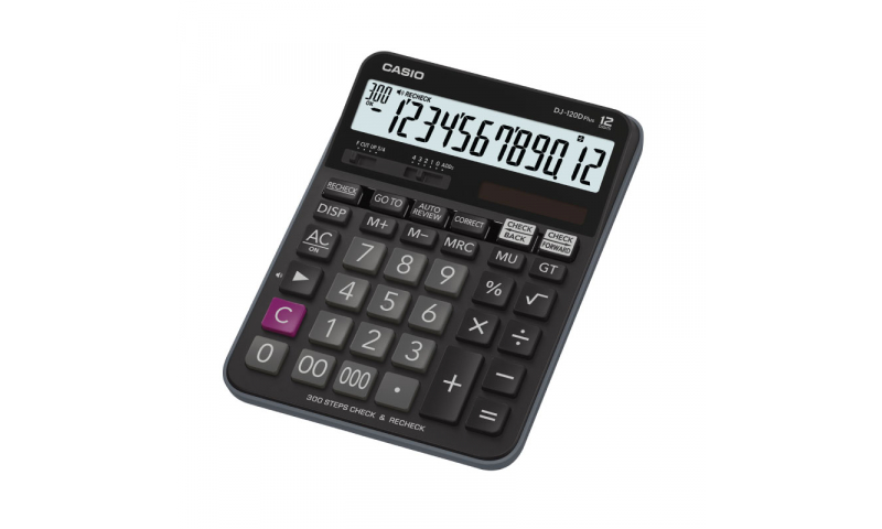 Casio 12 Digit Desk Calculator, Tax, Step & Correct function (New Lower Price for 2021)