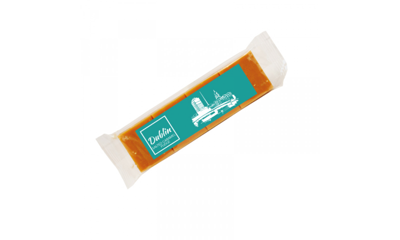 Dublin Caramel & Sea Salt Fudge Bar 100g