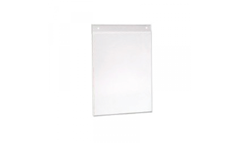 Acrylic Wall Mounted U Bend Leaflet Holder A4 (New Lower Price for 2021)