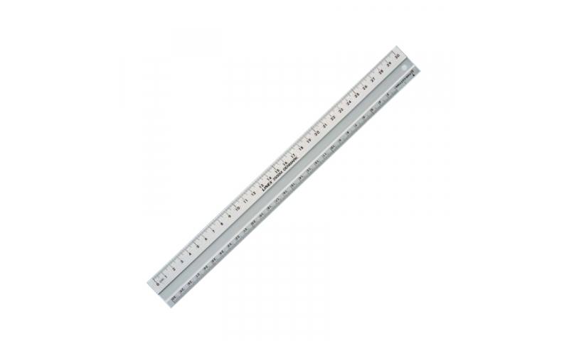 Linex Aluminium Ruler 30cm