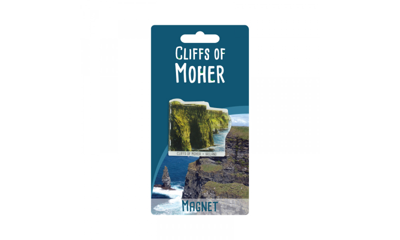Cliffs Of Moher Shaped Metal Magnet