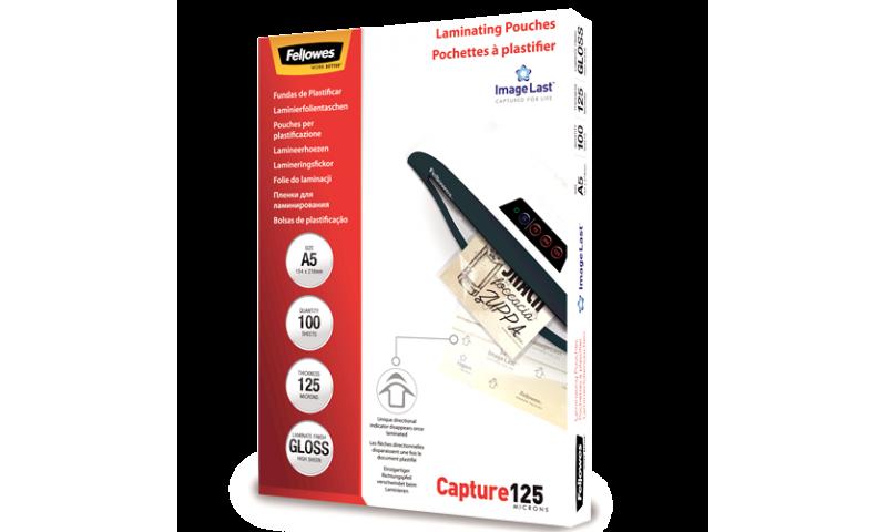 Fellowes ImageLast A5 125mic (250mic) Lamination Pouches - box 100
