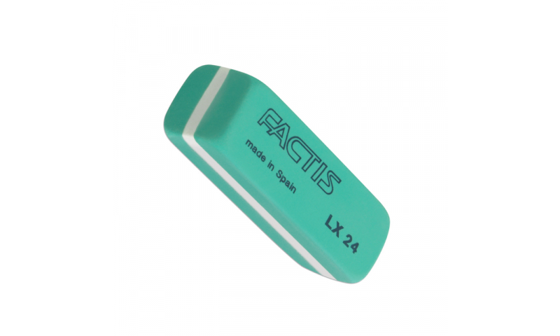 Factis LX24 Small Latex Quality Green Eraser  (New Lower Price for 2021)