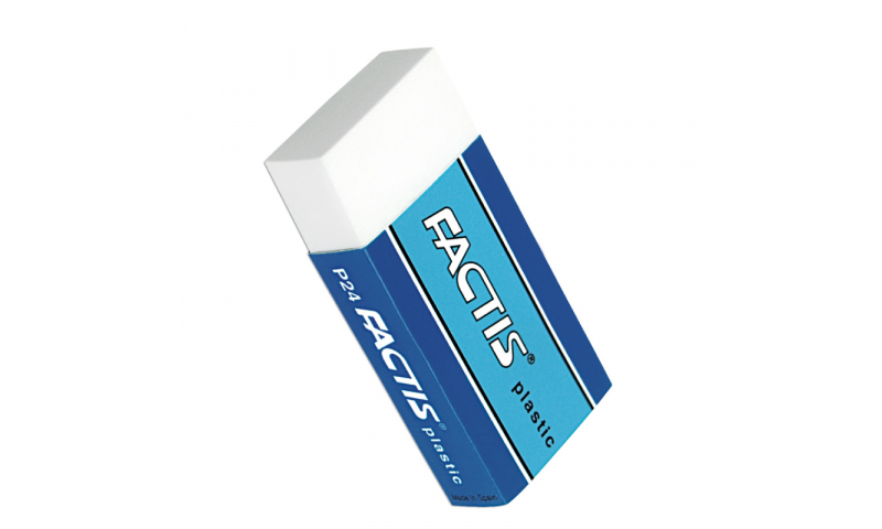 Factis P24 Small Plastic eraser (New Lower Price for 2021)
